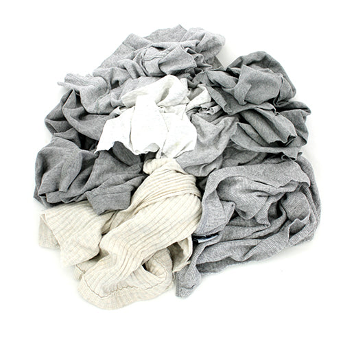 New Gray T-Shirt Rags (451)