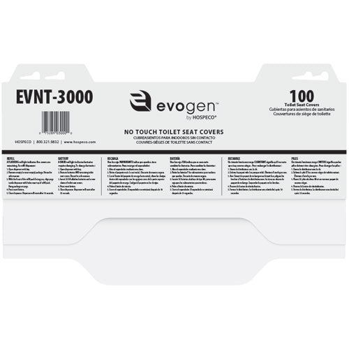 Evogen® No-Touch Toilet Seat Covers