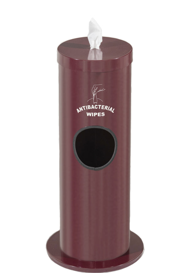Floor Standing Wipe Dispenser/Receptacle