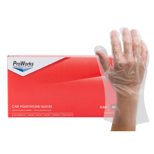 ProWorks Cast Polyethylene Gloves