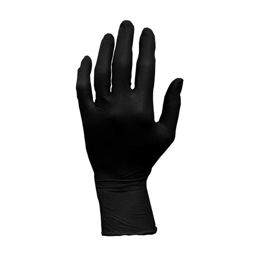 ProWorks Black Nitrile Exam Gloves, Powder Free 6 mil (GL-N107F)