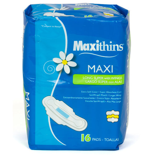 Maxithins Maxi w/ Wings: Retail Pack