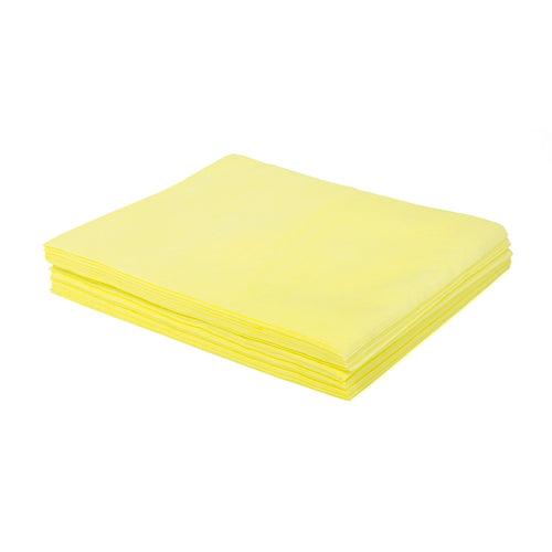 "TASKBRAND DS-M Stretch Duster, 18""X24"", Flat, Polybag, Yellow"