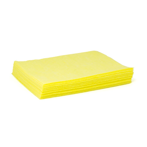 "TASKBRAND DS-M Duster, 12""X17"", Quarterfold, Polybag, Yellow"