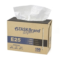 Interfold dispenser Primary Image Taskbrand E25 wiper scrim 4-PLY, 9.75