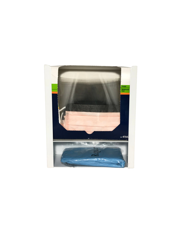 PPE0910 Face Shield Dispenser with shelf