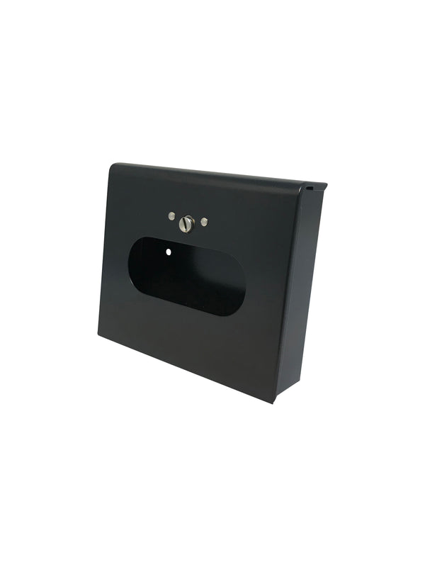 Sanitary Napkin Disposal Bag Dispenser - Box format with lock