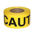 "Tape, Caution Barrier 3"" X 1000' Roll Blk On Yellow 3 Mil (TBT3000C )"