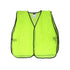 Safety Vest, Mesh, Non-Rated, without Reflective Stripe, in Lime Green or Orange