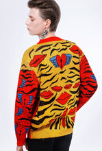 Load image into Gallery viewer, Behind the scenes Bali Tiger sweater