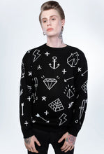 Load image into Gallery viewer, Behind the scenes Black Diamond sweater