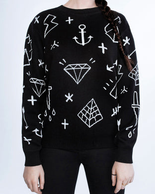 Black Diamond sweater