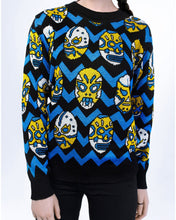 Load image into Gallery viewer, Behind the scenes Lucha Libre sweater