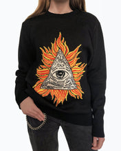 Load image into Gallery viewer, Behind the scenes Illuminati sweater