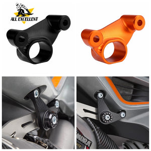 Motorcycle Exhaust Pipe Bracket Fixed Ring Support Bracket For KTM DUKE 790 2018-2019
