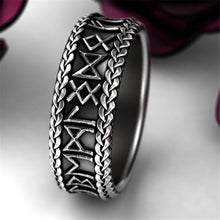 Load image into Gallery viewer, Vintage jewelry rune ring party cool accessories unisex unique gift motorcycle ring