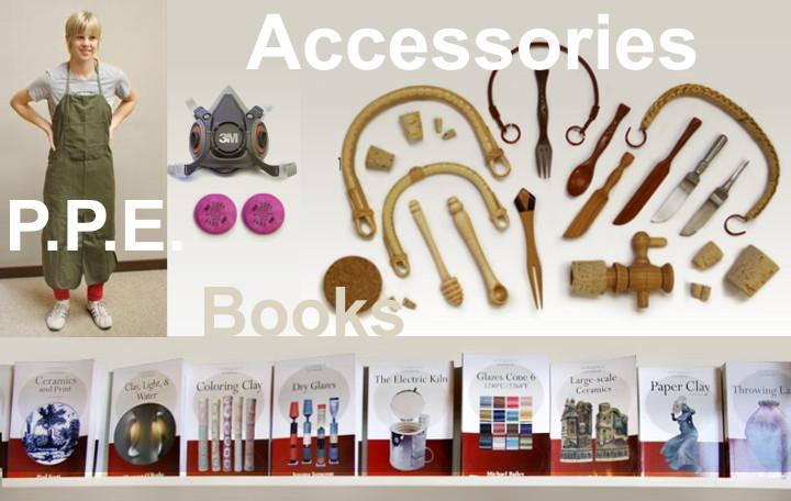 POTTERY BOOKS, ACCESSORIES, PERSONAL PROTECTION