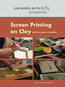 SCREEN PRINTING ON CLAY - VIDEO
