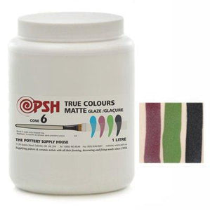 Cone 6 True Colours Matte Glaze