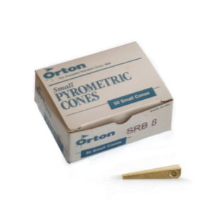 ORTON SMALL CONES (50) - Choose Cone Rating