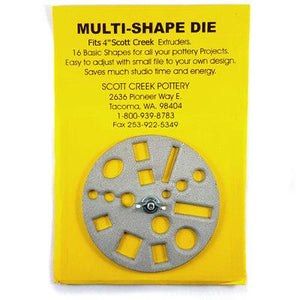 "SCOTT CREEK 4"" MULTI-SHAPED DIE"