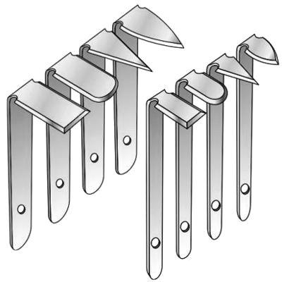Euclid Stainless Trimming Tool Set