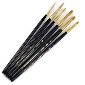 BRUSH TAKLON - SET OF 6 (1 - 3 - 5 - 2 - 4 - 6)