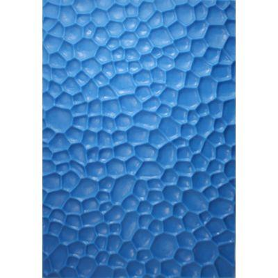ROCKS TEXTURE MAT BLUE