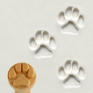 MKM Dog Paw Clay Stamp