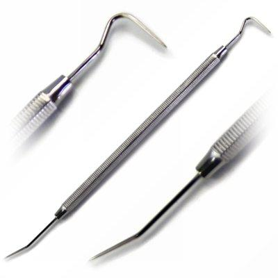 STAINLESS STEEL DBL-ENDED DENTAL PIN TOOL (TP60X)