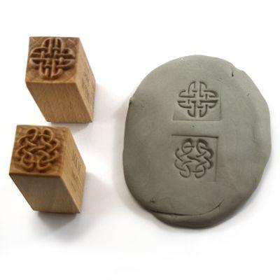 MKM SSM-043 Square Clay Stamp