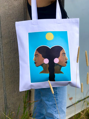 """My Reflection is Protection"" Tote"