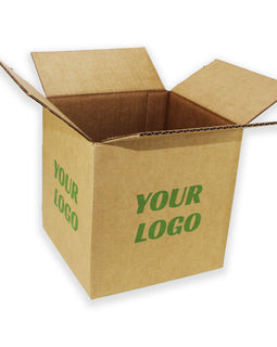 Custom Shipping Box 8x8x8 50 pcs $0.57/pcs - ZebraBoxes.com