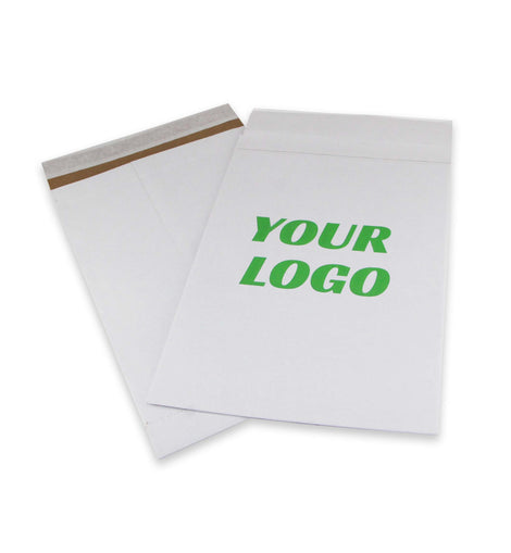 6x10 White Unpadded Paper Mailers 100 pcs - ZebraBoxes.com