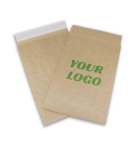 14.25x20 Printed Unpaded Paper Mailers 100 pcs - ZebraBoxes.com
