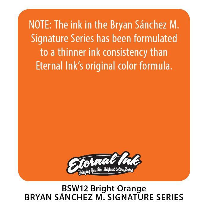 Eternal BS Bright Orange - Bryan Sanchez M. Watercolor
