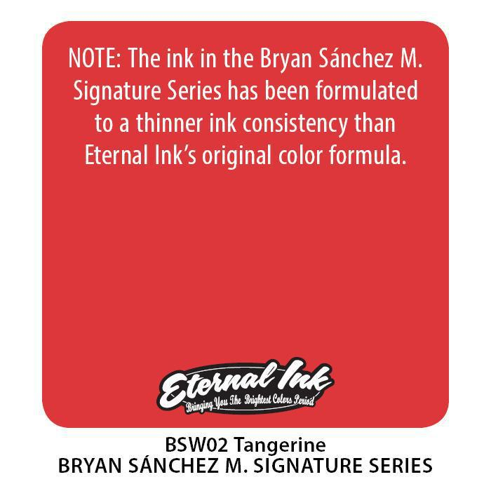 Eternal BS Tangerine - Bryan Sanchez M. Watercolor