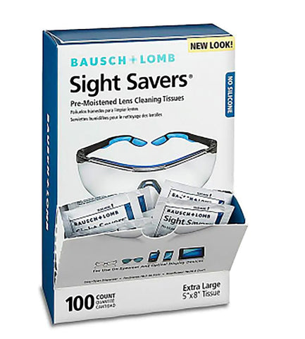 Glasses Wipes - Bausch and Lomb