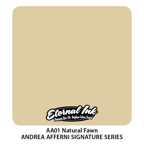 Eternal Ink Andrea Afferni Portrait Set-Natural Fawn