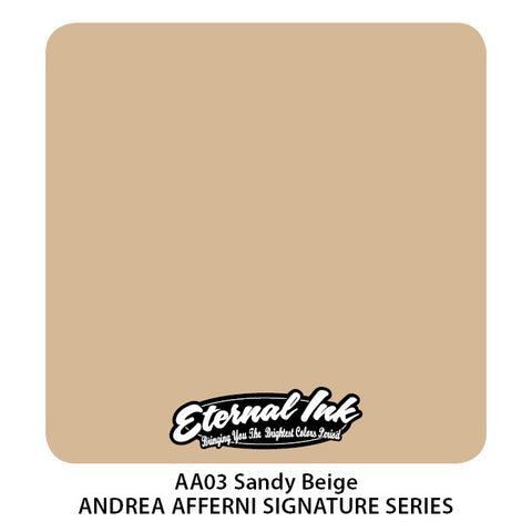 Eternal Ink Andrea Afferni Portrait Set-Sandy Beige