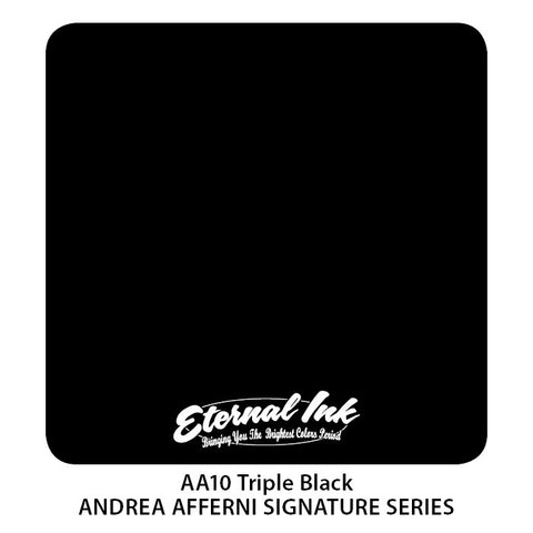Eternal AA Triple Black - Andrea Afferni Portrait