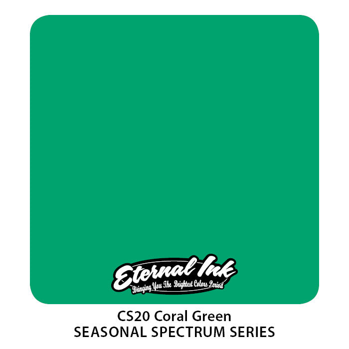 Eternal Ink Seasonal Spectrum Set - Coral Green