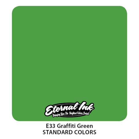 Eternal Ink - Graffiti Green