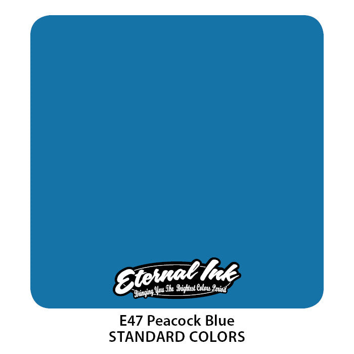 Eternal Ink - Peacock Blue