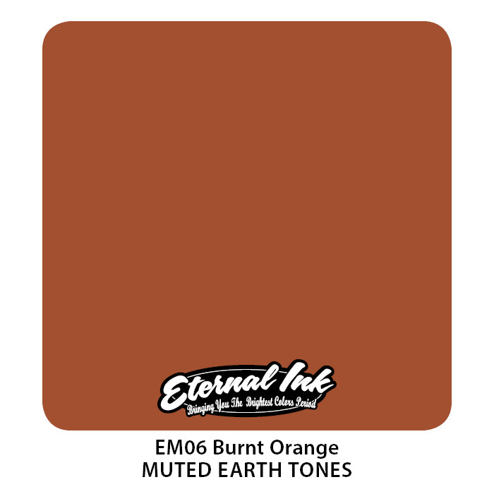 Eternal Ink Muted Earth Set - Burnt Orange