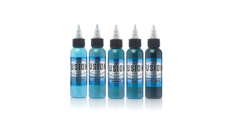 Fusion Ink - Opaque Blue Set
