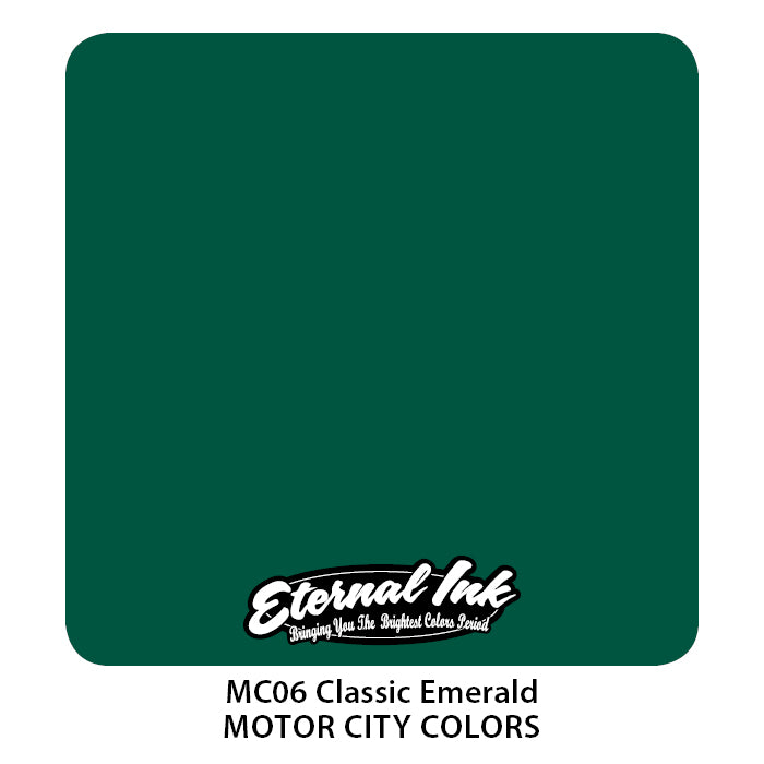 Eternal Ink Motor City - Classic Emerald