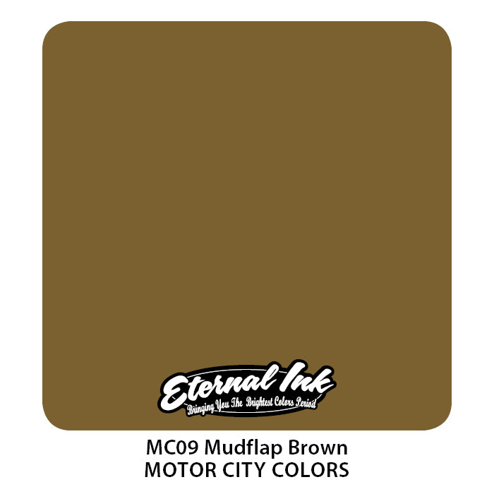 Eternal Ink Motor City - Mudflap Brown