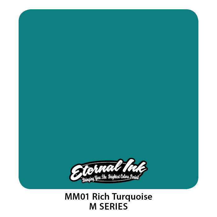 Eternal Ink M-Series Set - Rich Turquoise