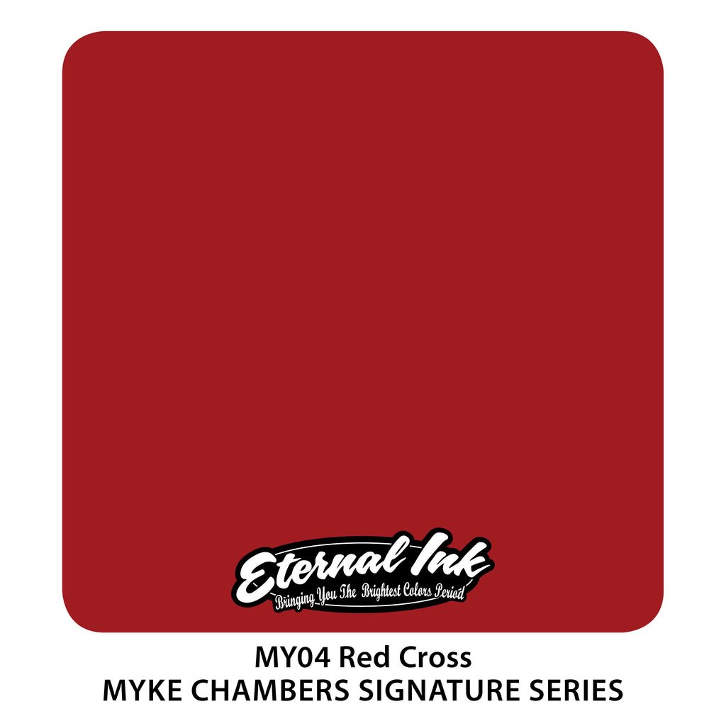 Eternal Ink Myke Chambers Signature Set - Red Cross